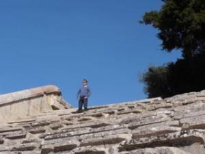 Epidavros theater Querijn - Zeilen-Griekenland