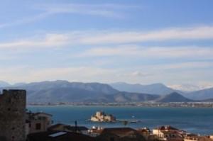 Nafplio, Bourtzi burcht l BQ Yachting, Zeilen in Griekenland