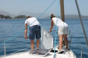 Ankerop vanuit Poros - BQ Yachting l Mooi Weer Zeilen!