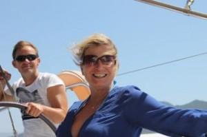 Zeilen in de zon l Els en Q - BQ Yachting, Mooi Weer Zeilen!