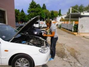 Auto goed verzorgen!