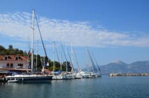 Vathi - Saronische golf l flottielje 2013 l BQ Yachting l Mooi Weer Zeilen!
